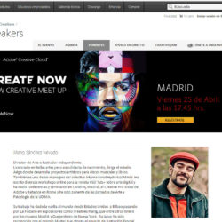 Adobe Create Now & Behance Portfolio Review in Madrid