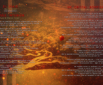 G-Noma Cauces CD booklet design