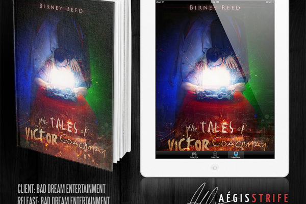 The Tales of Victor Coachman book cover mockup