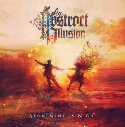 """An Abstract Illusion """"Atonement is Nigh"""" CD Artwork"""