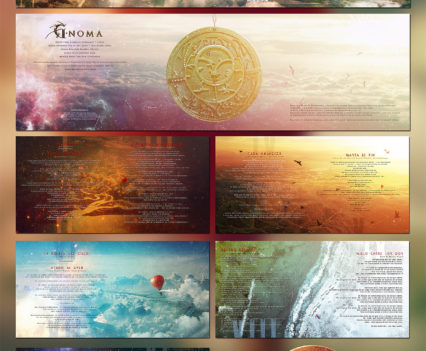 G-Noma Cauces CD packaging design