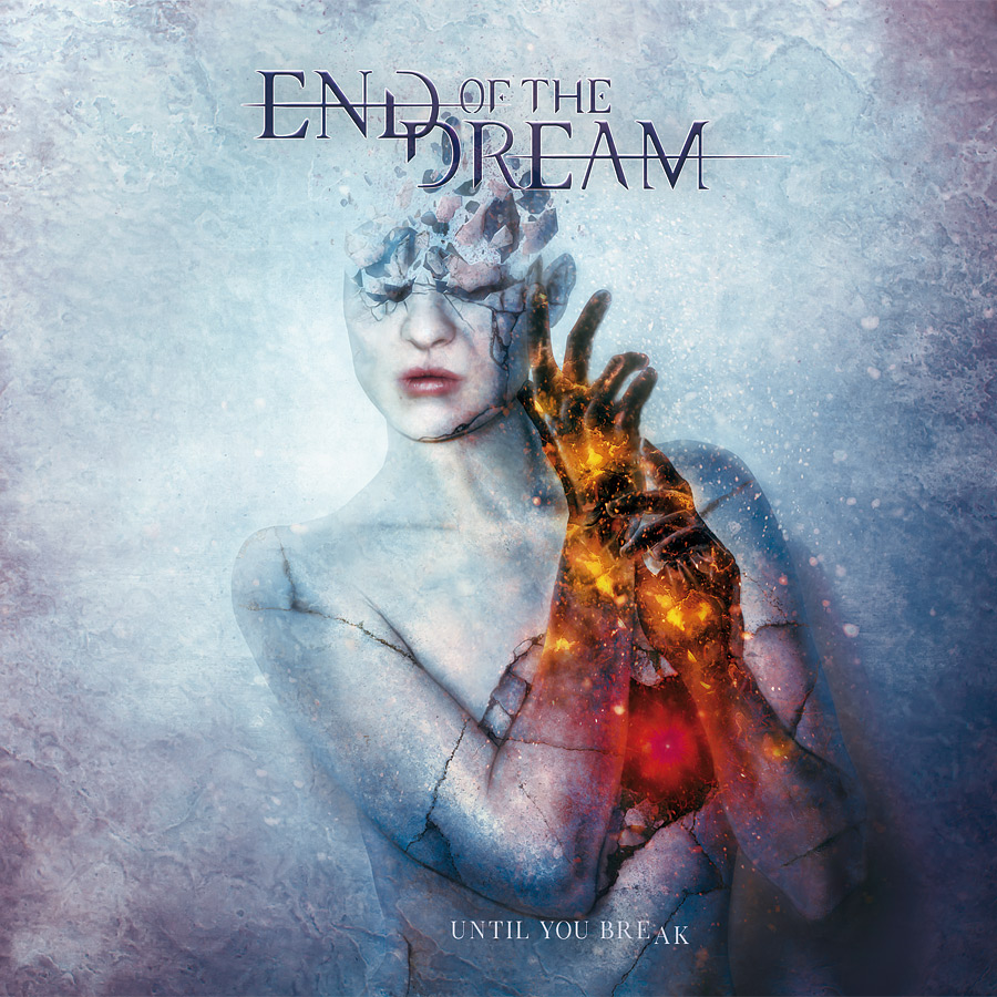 End of the dream: Until you break CD cover artwork by Mario Sanchez Nevado