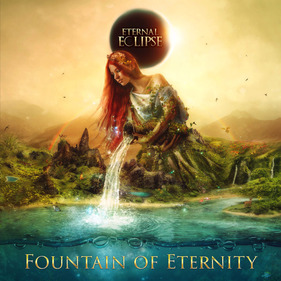 Fountain of Eternity CD Cover by Mario Sanchez Nevado