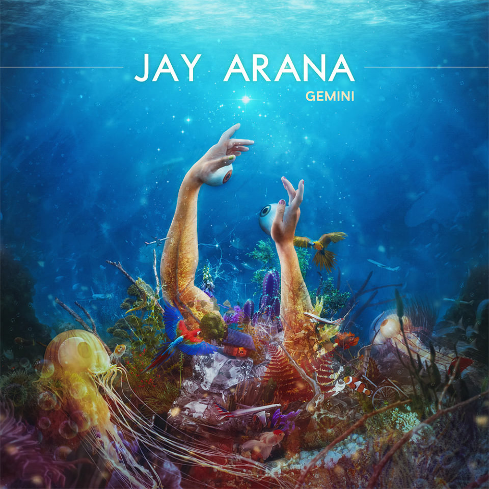Jay Arana - Gemini cover artwork by Mario Sanchez Nevado