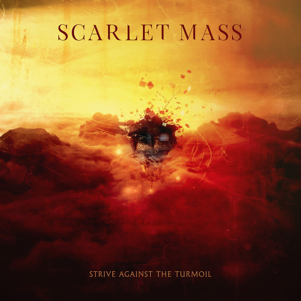Scarlet Mass CD Cover by Mario Sanchez Nevado