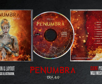 Penumbra Era 4 album design by Aégis Illustration