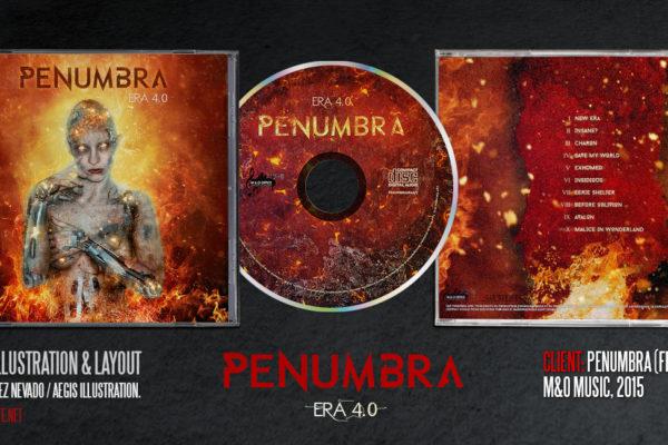 Penumbra Era 4 album design by Aégis Illustration