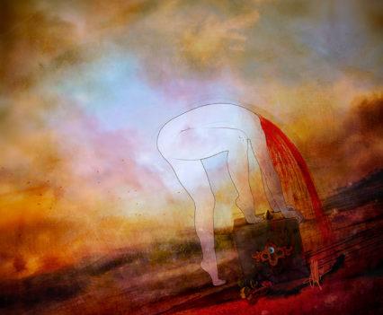 To fall - Digital Art by Mario Nevado