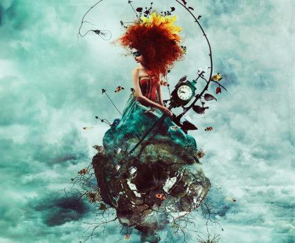 Delirium - Digital Art by Mario Nevado