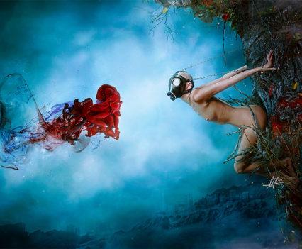 Entropy - Digital Art by Mario Nevado