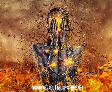 Through Ashes Rise - Digital Art by Mario Sanchez Nevado