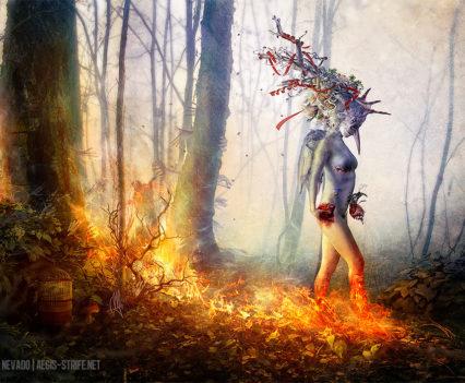 Trust in me - Digital Art by Mario Sanchez Nevado