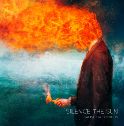Silence the Sun – Sailing Empty Streets CD Artwork