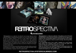 Art book Retrospectiva: Hysterical Minds!
