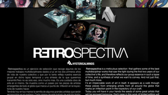 Hysterical Minds: Retrospectiva Art book