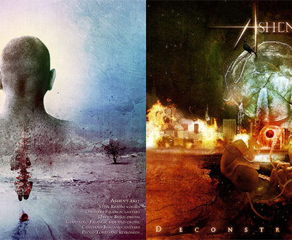 Ashent Deconstructive album packaging covers