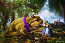 Adobe Photoshop CS6 Tutorial: A Twisted Fairytale!