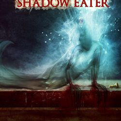 """The Shadow Eater"" Book cover artwork"