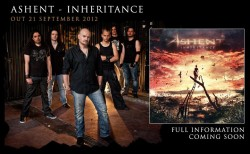 Ashent: Inheritance CD cover artwork