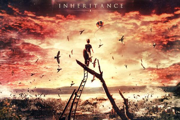 Ashent - Inheritance CD cover artwork by Mario S. Nevado
