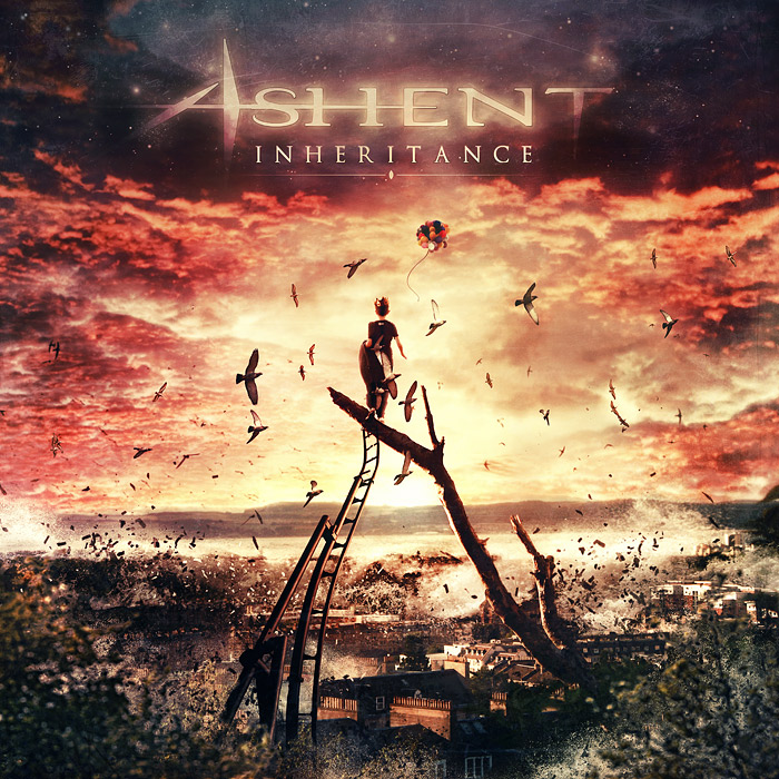 Ashent - Inheritance CD cover artwork by Mario S. Nevado