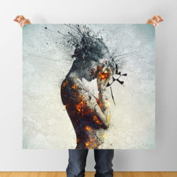 Crowdfunding: 'Deliberation' prints for just 30$!