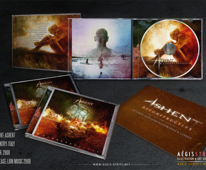 Ashent - Deconstructive album packaging