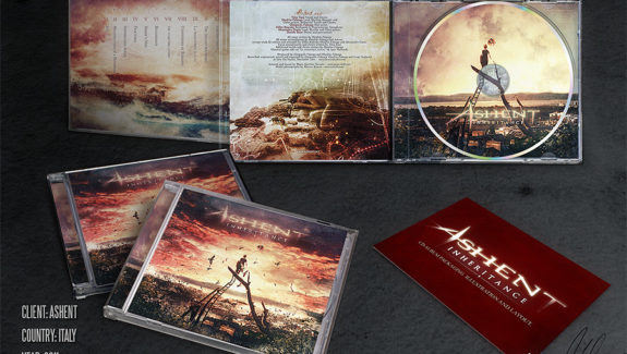 ashent inheritance cd packaging design