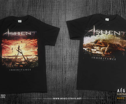 ashent inheritance t-shirts design by Mario Nevado