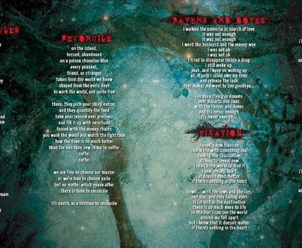 The Twilight Garden CD album packaging - Booklet #2