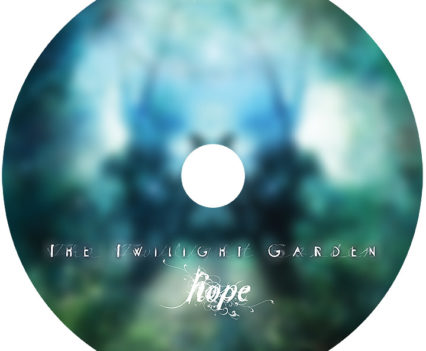 The Twilight Garden CD album packaging - CD image