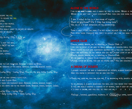 Night in Wales: Doubts and Fears CD booklet 2