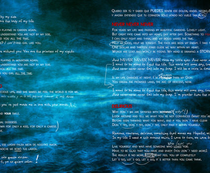 Night in Wales: Doubts and Fears CD booklet