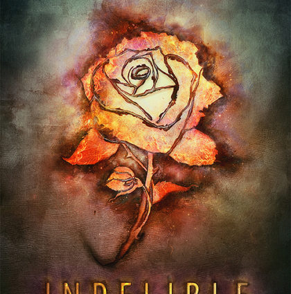 "Dawn Metcalf ""Indelible"" Book cover artwork"