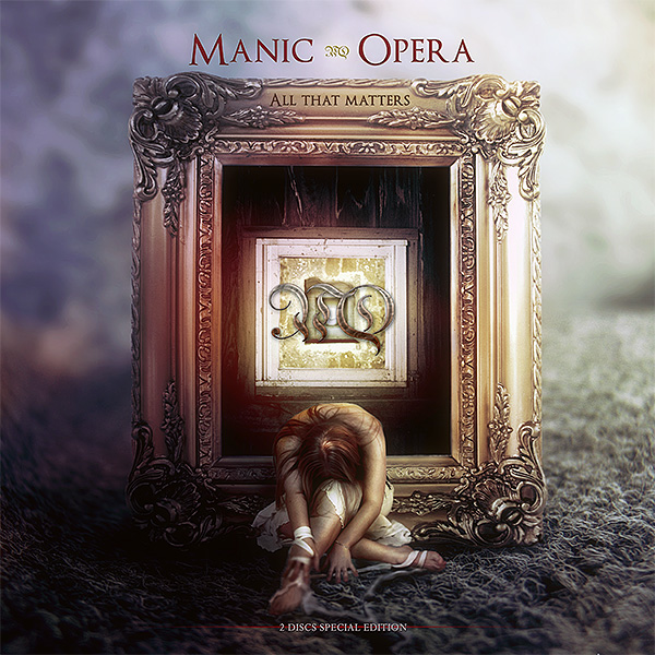 Manic Opera - All that matters CD cover artwork