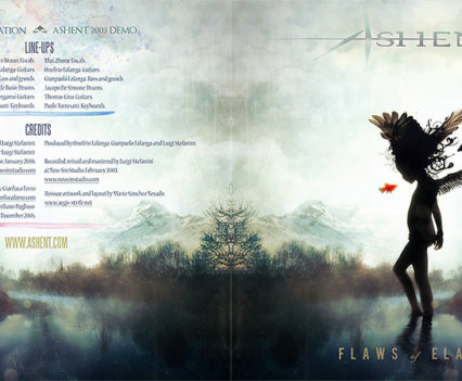 Ashent: Flaws of Elation packaging artwork by Mario S. Nevado