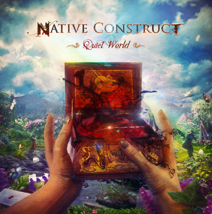 "Native Construct ""Quiet World"" CD Artwork"