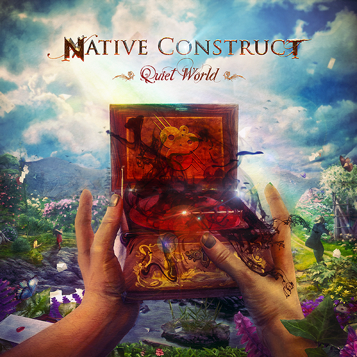 Native Construct - Quiet World CD cover artwork by Mario S. Nevado
