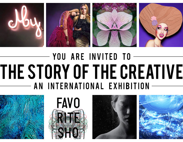 The story of the creative exhibition