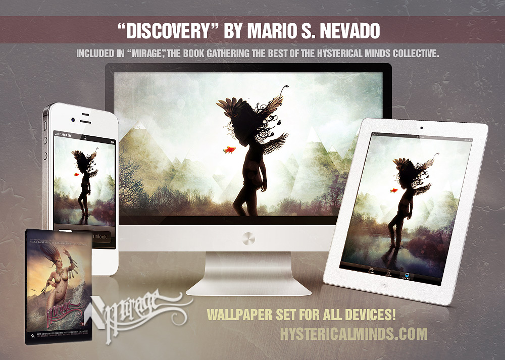Discovery surreal HD wallpaper set by Mario S. Nevado