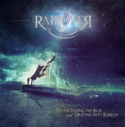 "Rainover ""Trascending the Blue and Drifting…"" CD Artwork"
