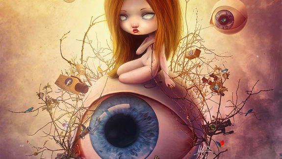 Big Brother - Pop Surrealism by Aegis + Liransz