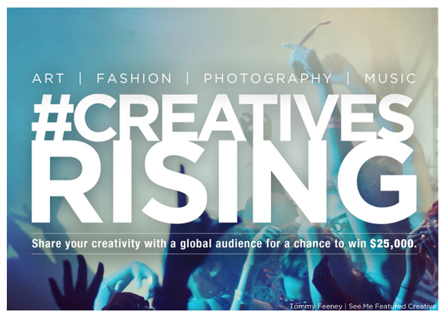 Creatives Rising exhibition in New York