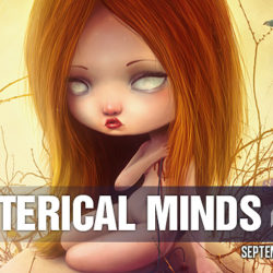 """Hysterical Minds presents the exhibition """"They are among us"""""""