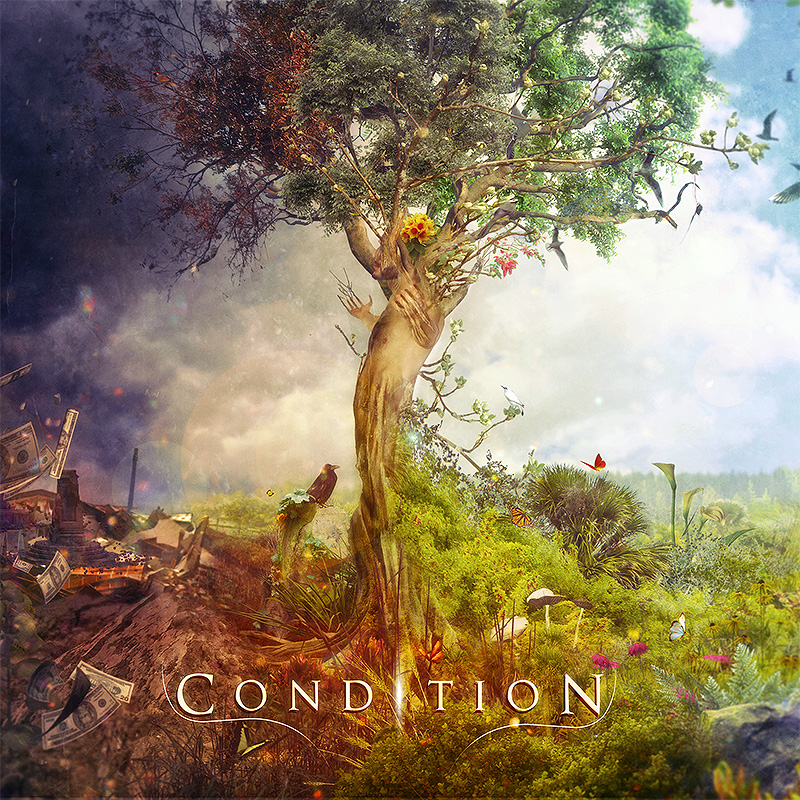 Frost: Condition CD cover artwork by Mario S. Nevado