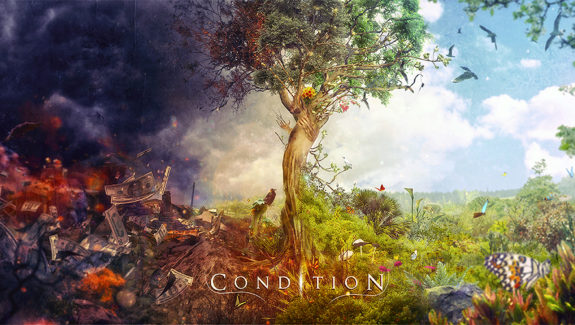 Condition CD cover artwork by Mario S. Nevado