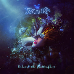"Tezaura ""Unleash the Butterflies"" CD Artwork"