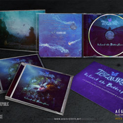 Tezaura – Unleash the Butterflies CD Artwork