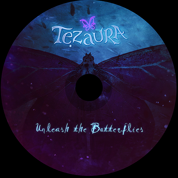 Tezaura - Unleash the Butterflies CD cover artwork