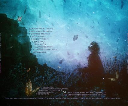 Tezaura - Unleash the Butterflies CD cover artwork